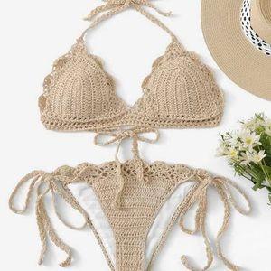 Crochet Bikini small NWOT